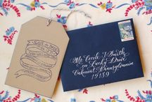 Design Inspiration: Invitations & Letterpress / Design inspiration for invitations and projects using letterpress.  / by Kortney Korthanke