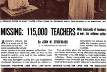 Teaching & Education during WWII