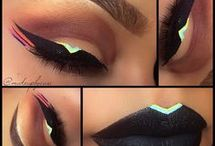 Eye makeup : Avant garde