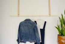 DIY closet/organization