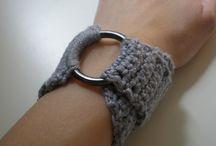 crochet cuff/ bangles