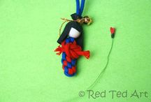 beaded ornaments / by Jackie Moses-robinson