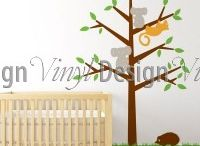 Kids - Vinyl Designs / Vinyl Design is a Sydney based brand, we design wall stickers and lifestyle products. This is our fun space with pins from our daily finds and inspirations  #kidsdecor #wallart #walldecals