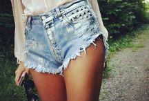 Who wears short shorts?! / Shorts / by Lanta Brown