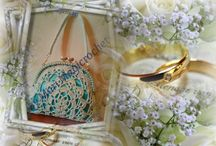 """Handmade in Italy """" My Chic Bags"""" / My creations Chic Bags for your dream day! Wedding, Special party, Anniversaries, Dance Party, Gala and more...  Follow me on my Facebook fan page...   https://www.facebook.com/chicetcharmbags...... If interested write me in private"""