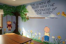 decorating kids church room