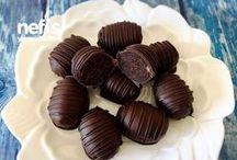 cikolatali bonbonlar