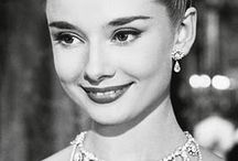 """Audrey / """"She completely looked the part of a princess. A real, live, bona fide princess. And when she opened her mouth you were sure you'd found a princess."""" - William Wyler on her role in Roman Holiday . / by Marcia Bylina"""