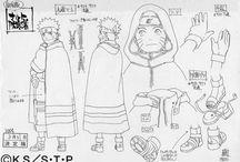 Naruto Model Sheets