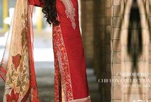 Gul Ahmed La Chiffon Festive collection 2015 / Gul Ahmed La Chiffon Festive collection 2015