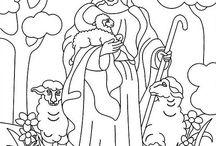 Uskonnolliset värityskuvat