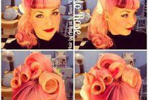 Pink / Purple hair