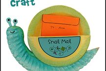 Snail, mail craft