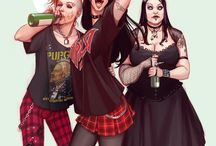 -Rock and Roll/ Metal/ Punk rock- / by Polina Elharar