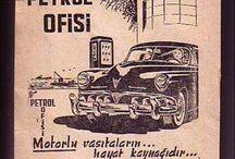 Vintage Print Ads in Turkish