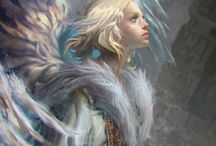 Fantasy art and Characters