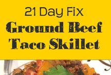 21 day fix recipes / 21 day fix