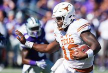Texas Football at K-State [Oct. 22, 2016] / An early deficit on the road proved to be too much for the Longhorns, as Texas (3-4, 1-3) falls to the Wildcats (4-3, 2-2) 24-21. RB D'Onta Foreman recorded over 100 rushing yards in his eighth straight game, the longest active streak in the FBS.