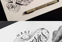 LETTERING / Words