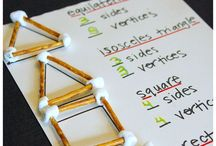 Kindergarten Geometry / Activities, ideas and printables for your child/student to work on shapes and identifying attributes.