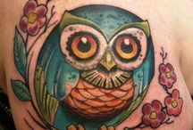 Owl tattoos / by Casey Johnson
