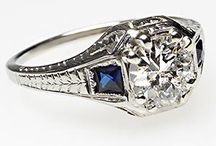Vintage Engagement Rings / by Jasper Adamson