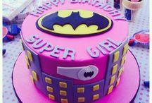 cake- super girl