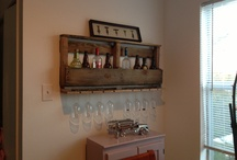 Wine rack i made out if an old pallet! / What you can do with an old wooden pallet!