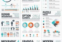 Infographic Vector Template Elements / Awesome Infographic Vector Template Elements for Adobe Illustrator