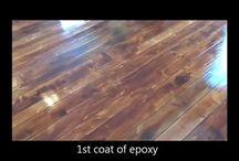 How To Make Concrete Look Like Wood