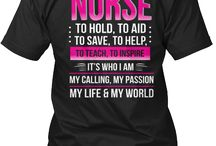 Nurse T Shirts - Funny and Inspiring Nurse Shirts / These Nurse T Shirts will make you proud to wear them. Whether you are in nursing school, new nurse, or seasoned nurse, these nurse shirts will be of interest to you. Wear the pride for the nursing profession on your literal nurse t-shirt sleeve.