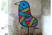 Street art et créations urbaines