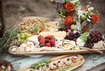 Plating & Platter Inspiration / From canapés to platters to buffets - all things cool in the world of food presentation