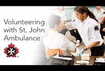 Volunteer with St. John Ambulance