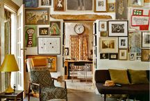 inspiration//gallery walls / by Fallon Sheppard