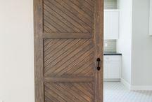 Drzwi Barn doors