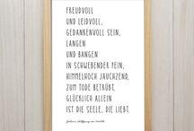 Poetry&Typo. / Poetry. Zitate.  Typografie.