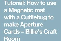 Cuttlebug embossing and dies