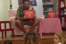 """Presentación del libro de José Fragoso / Aquí os dejamos unas fotos del día que vino a visitarnos José Fragoso con su libro """"La increíblemente alucinante historia de Marcial, el niño normal"""""""