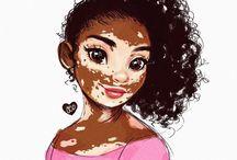 Vitiligo Art