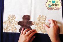 barrado pano de prato patchwork