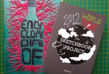 Encyclopedia of Bottles / My contribution to Sketchbook Project 2012. More about the book on http://thispiggynose.blogspot.in/