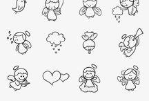 dibujos para colorear para marcapáginas