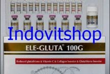 Ele Gluta 100g whitening injection and whitening suplemen