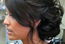Hair & Make-up / Inspired make up, bridal hairstyles and updo ideas for weddings, spring racing and parties
