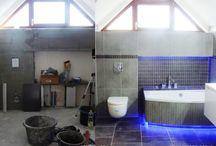 projekt łazienki - Swarzedz - realizacja / projekt lazienki architekt slupca projektant lazienki #projekt #wnetrz #łazienka #architekt #słupca #projektant