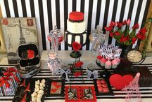 A Parisian Love Affair / A couple of months ago we had the absolute pleasure of styling the 50th Birthday Party for a lovely lady. Her life long fasciation and love for all things Parisian was the inspiration for this event. The styling was STUNNING and this dessert table was definitely the focal point of the evening. We hope you enjoyed your very special day as much as we enjoyed helping bring your fantasy to life. Styling by Oh Feri - Party and Event Styling www.facebook.com/ohferieventstylist