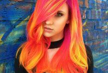 Ombre\barevné vlasy