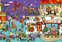 Láminas para hablar - María Neradova / http://marianeradova.blogspot.com.es/