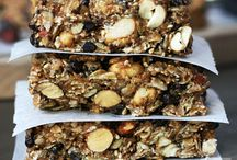 Power Bars & Granolas / For heathy snaking for use on bike rides and hikes